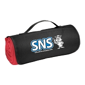 SNS Roll-Up Sweatshirt Blanket - Red