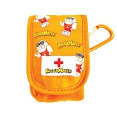 AllerMates Small Medicine Case (Orange)