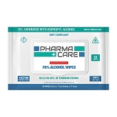 Pharma+Care Advanced Formula Isopropyl Alcohol Wipes (50-ct)