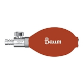 Baum Latex-Free Claibrated V-Lok Inflation Systems - Bulb & Valve (Only)