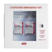 Naloxone/Narcan Overdose Emergency Kit - Non-Locking Unit