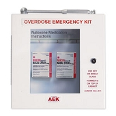 Naloxone/Narcan Overdose Emergency Kit - Locking Unit