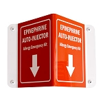 3D Epinephrine Auto-Injectors Wall Sign (Only)