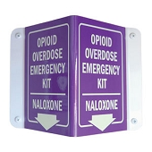 Opiod Overdose Emergency 3D Wall Sign