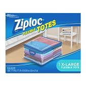 Ziploc Flexible Totes - 10 Gallon (X-Large)