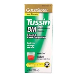 GoodSense Tussin Cough Syrup - Tussin DM (4 oz)