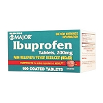 Ibuprofen - 200mg (100/Bottle)