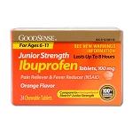 Ibuprofen Junior Strength - 100 mg (24-ct)