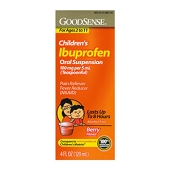 Ibuprofen Children's Oral Suspension (4 oz)