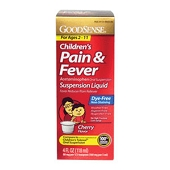 Children's Acetaminophen Liquid **Dye-Free** (4 oz)