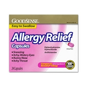 Allergy Relief - Generic Benadryl