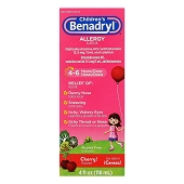 Children's Benadryl Allergy Liquid (4 oz)