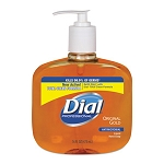 Dial Antibacterial Liquid Soap (16 oz Pump)