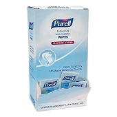 PURELL Cottony Soft Hand Sanitizing Wipes - Individually Wrapped (120/Box)