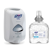 PURELL Advanced with Moisturizers & Vit E Instant Hand Sanitizer - Combo Kit (Touch-Free)
