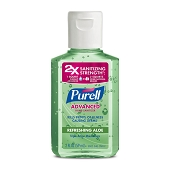 PURELL Advanced Instant Hand Sanitizer with Aloe - 2 oz Squeeze