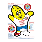 Henry the Hand Wall Cling