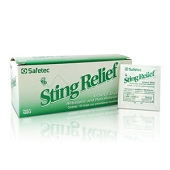 Safetec Sting Relief Wipes (150-ct)