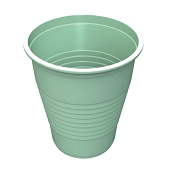 5 oz Flat Bottom Plastic Cup - Mint Green (50-ct)