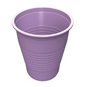 5 oz Flat Bottom Plastic Cup - Lavender (50-ct)