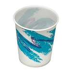 5 oz Wax Lined Flat Bottom Paper Cup (100/Tube)