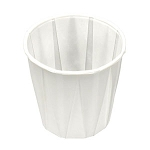 3 1/2 oz Pleated Paper Cup (100/Tube)