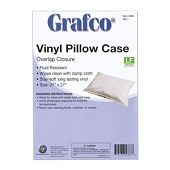 Reusable Plastic Pillow Covers - Overlap Closure (Each)