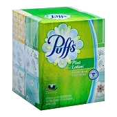 Puffs Plus Lotion Tissues (124-ct) **PACK of 6**