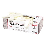Housebrand Latex Powder Free Gloves - Large (100/Box)