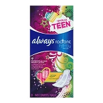 Always Radiant Infinity Teen Pads (28/Box)