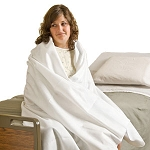 Comfort1 Disposable Blankets - White (10/Case)