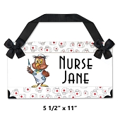 SNS Personalized Nurse Sign - Small (Avenida Font)