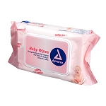 Dynarex Unscented Baby Wipes (80/Pkg)