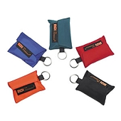 CPR MicroKey - Nylon Case with Key Ring (Red)