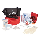 First Aid Waist Pack Kit - Complete (Red)