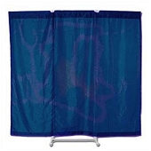 Port-A-Wall Portable Room Divider - Blue