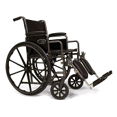SNS Wheelchair with Swingaway Footrest (18