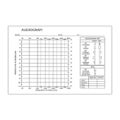 Maico Audiometers - Additional Audiogram Tear Pad