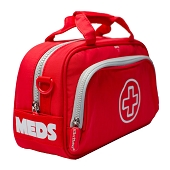 AllerMates Red Med Bag