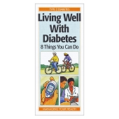 Living Well with Diabetes:  8 Things You Can Do (50/Pkg)