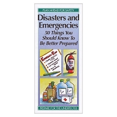 Disasters and Emergencies:  50 Things You Should Know To Be Better Prepared (50/Pkg)