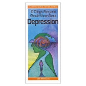 10 Things Everyone Should Know About Depression (50/Pkg)
