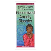 10 Things Everyone Should Know About Generalized Anxiety Disorder (50/Pkg)