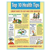 Top 10 Health Tips (Poster)