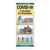 COVID-19 A Checklist for Prevention Pamphlet (Each)
