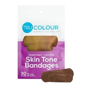Tru-Colour Bandages - Dark tone