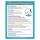 Child Dental Emergencies Magnets