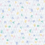 Angeles Rest Standard Cot Sheets - ABC Print