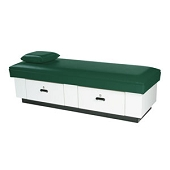 Standard Flat Couch - Hardwood Base 2 Drawers