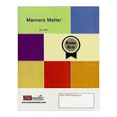 Manners Matter DVD (English)